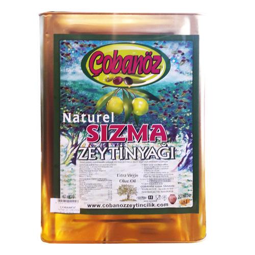 Naturel Sızma Zeytinyağı 18 L
